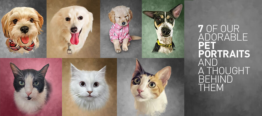 7 of our adorable pet portraits
