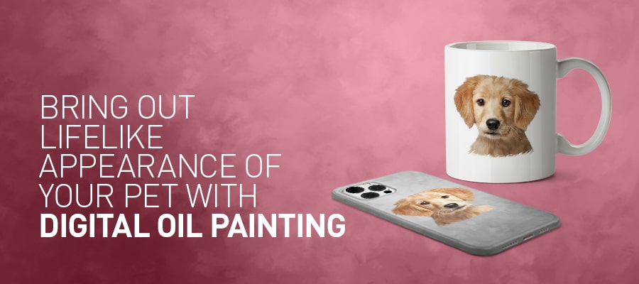 Bring out lifelike appearance of your Pet with Pet Paintings